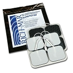 400-899  Electrode, Richmar Super-Stim Premium Silver  2x2 Cloth; 4 electrodes per pack As Low as $2.90.