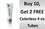#173-6 BioFreeze®  PROFESSIONAL 4 oz Colorless  Tubes Promo buy 10 Get 2 FREE