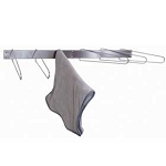 #HCR6F  Folding, 6 Hook Stainless Drying Rack As Low as $46.00