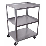 #MC321  Stainless 3 Shelf 16