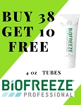 #179 Biofreeze® PROFESSIONAL 4oz Tube Promo Buy 38 get 10 FREE!