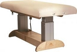 Used Electric Massage Table-Oakworks Clesta Performa Color: Soft Gray