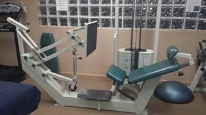 Used Alliance seated Leg Press-Good Condition!