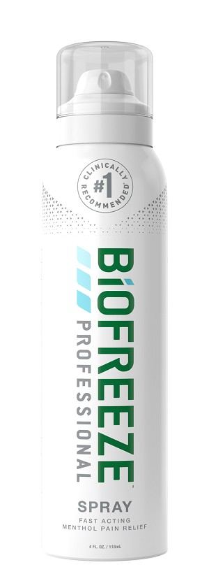 #13422  BioFreeze®  PROFESSIONAL 4 oz 360 degree Spray  (Please Register FIRST Or Log in to View Your Price and Add to Shopping Cart!)