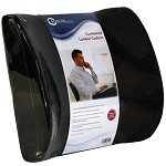 #PC7121 Contoured Lumbar Seat Back Cushion w/ Elastic Strap As Low As $12.50