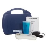 #DU1025:  US-1000 3rd Edition, 1mHz Portable Ultrasound, AC Adapter and 2.8 oz Conductive Gel