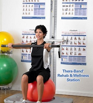#21915-2 Thera-Band® Rehab & Wellness Station As Low As $1,599.99