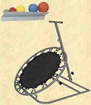 #BAY1631  Back at Ya Package, Rebounder, WRBR, Rack and Balls  As Low as  $605.00