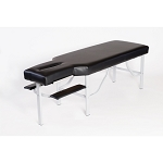 #C-4612 Treatment table w/face slot and arm rest